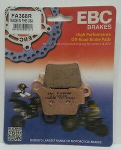 2004 2005 2006 2007 2008 2009 KTM 125 SX Front and Rear Brake Pads Severe Duty