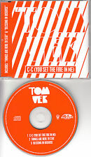 TOM VEK C-C (YOU SET THE FIRE IN ME) 3-TRK CD UNPLAYED