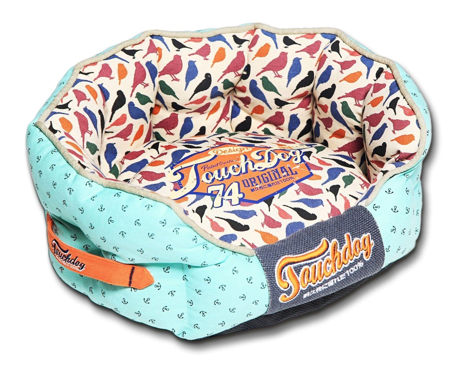 rpinAvery Rounded Premium Designer Fashion Pet Dog Bed