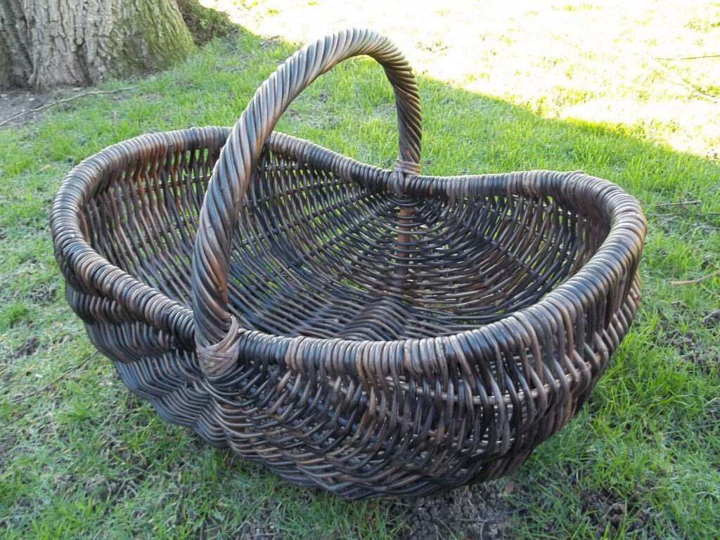 CAMINO cesta, cesta giornale, gigante cesta, Marroneee scuro