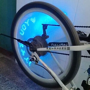 Blue Led Motorcycle Cycling Bike Bicycle Wheel Tire Valve