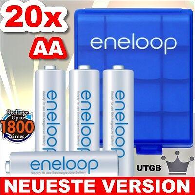 NEU mit 50% mehr Lebensdauer - 20 x Eneloop Mignon AA