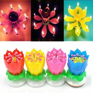 Amazing lotus flower musical birthday candle different colors image is loading amazing lotus flower musical birthday candle different colors mightylinksfo