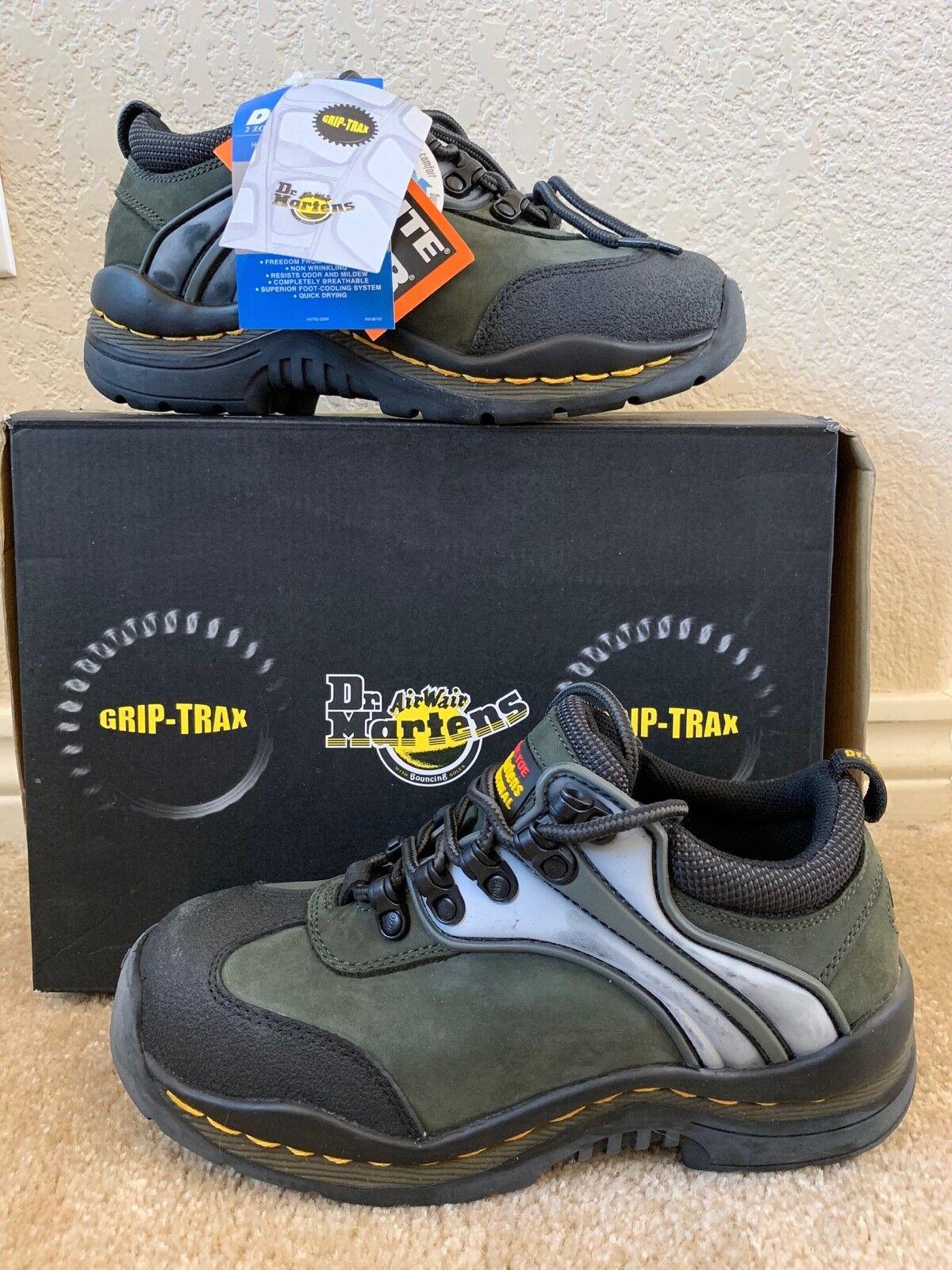 Dr. Martens Men's Steel Toe Vintage Industrial Boot Sneakers