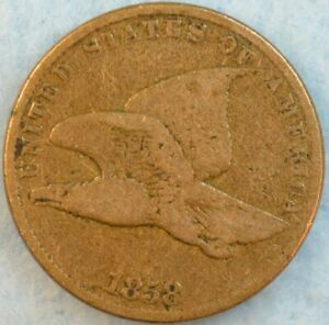 1858-Flying-Eagle-Cent-Great-Details-amp-Condition-Original-Color-Full-Date-36256