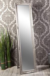 Standspiegel Spiegel Antik Silber Madison 160 X 40 Cm Ebay