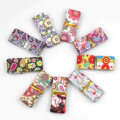 """7//8/"""" Grosgrain Ribbon Printed Candy Cake Ribbons Mixed lots 10 Pieces 22mm"""