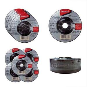 "Grinding Discs 5 Pack - 4 Inch Wheel For Grinders Aggressive Metal 4"" X 1/4"