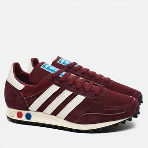 7a079d89fcb Adidas Originals La Trainer OG Burgundy S79941 (All Size) Vintage ...
