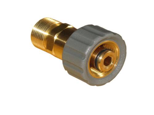Adattatore m21 filettatura interna su m22 AG per ad esempio wap alto su Kärcher TUBO