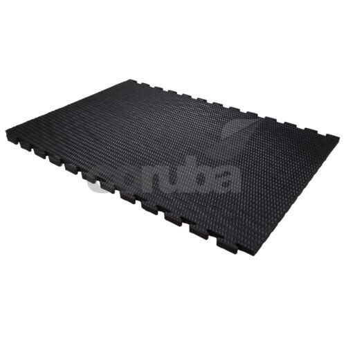 KwikMat EVA Link-able Gym Mats Flooring 1.8m x 1.2m 6ft x 4ft x 34mm Thick