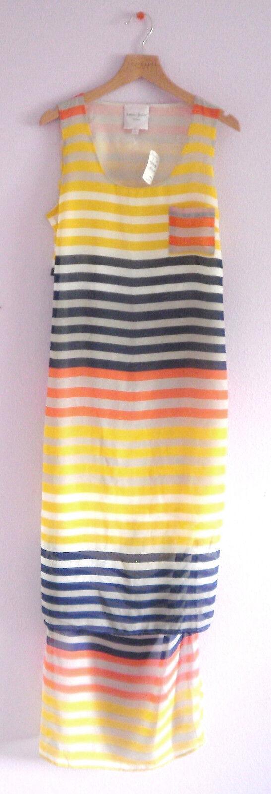 Romeo & Juliet Couture Dress Medium Stripes NWT  Neiman Marcus