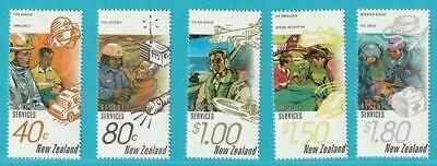 Logisch Neuseeland Aus 1996 ** Postfrisch Minr. 1497-1501 Rettungsdienst Hubschrauber 100% Garantie