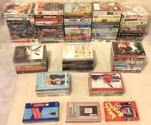 JobLot-Bundle-70-VHS-Video-Cassette-Tapes-Big-Box-Movies-Films-Music-Comedy-War