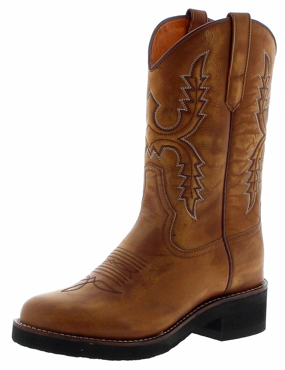 Sendra stivali 11615 Siena Cowboy Da Donna Stivali Stivali Western MONTALA Marronee