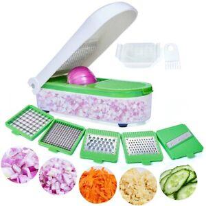 Food Vegetable Slicer Salad Onion Fruit Peeler Cutter Dicer Chopper Kitchen Tool