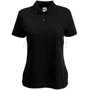 Fruit-of-the-Loom-Womens-Lady-Fit-65-35-Polo-Shirt