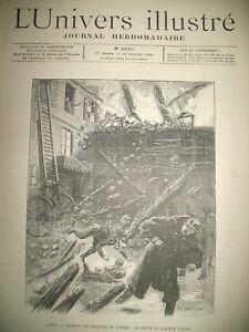 INCENDIE-MAGASINS-OPERA-POMPIERS-MEETING-VITICULTEURS-SANGLIER-GRAVURES-1894