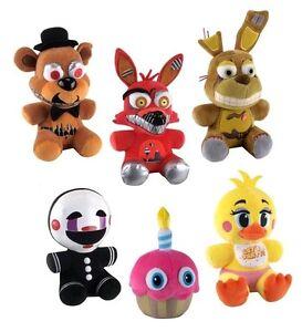 Five-Nights-at-Freddy-039-s-6-x-Plush-Doll-Set-Wave-2-NEW-Funko