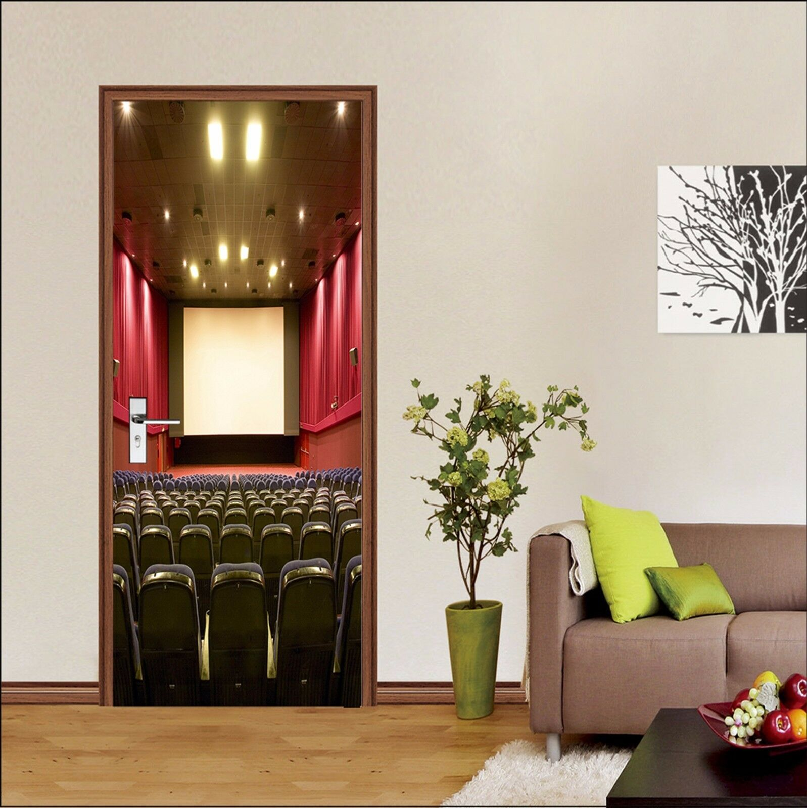 3D Bühne 763 Tür Wandmalerei Wandaufkleber Aufkleber AJ WALLPAPER DE Kyra | München  | Perfekt In Verarbeitung  |  Neuer Markt