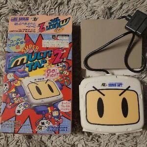 Super Multitap 2 Multi Tap Bomberman Snes Super Nintendo Boxed CIB