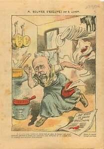 Caricature-Politique-Gouvernement-Maurice-Rouvier-France-1906-ILLUSTRATION