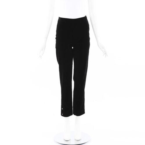 Chanel Velvet Ankle Pants
