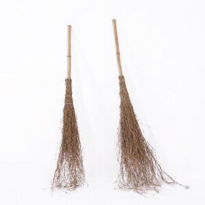 reisigbesen ca. 110 cm besen bambus reisig hexenbesen reiserbesen, Gartenarbeit ideen