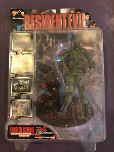 Resident-Evil-Palisades-Series-1-Soldier-Zombie-Figure-Dog-Biohazard-Capcom