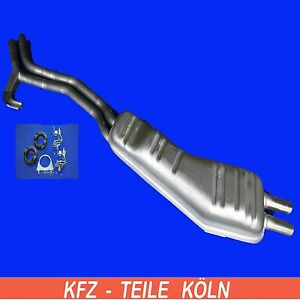 BMW-E34-525i-Muffler-End-Pipe-Exhaust-System-Assembly-Kit