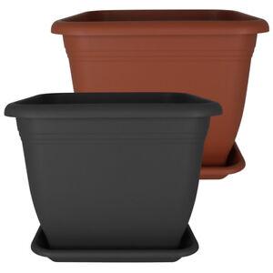 pflanzk bel untersetzer pflanzentopf blumentopf bertopf blumenk bel kunststoff ebay. Black Bedroom Furniture Sets. Home Design Ideas