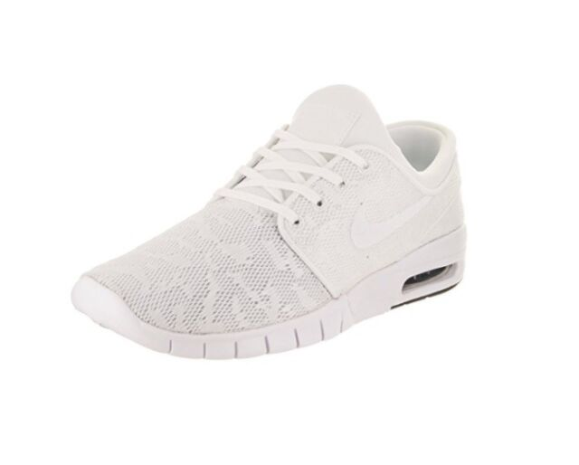 1ed79bd09c NEW MEN SHOE NIKE STEFAN JANOSKI MAX WHITE WHITE OBSIDIAN AUTHENTIC  631303-114