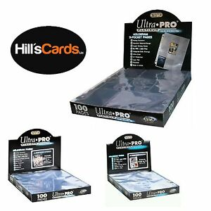 ULTRA-PRO-PLATINUM-SERIES-POCKET-PAGES-FOR-TRADING-CARDS-amp-COLLECTIBLE-ALBUMS