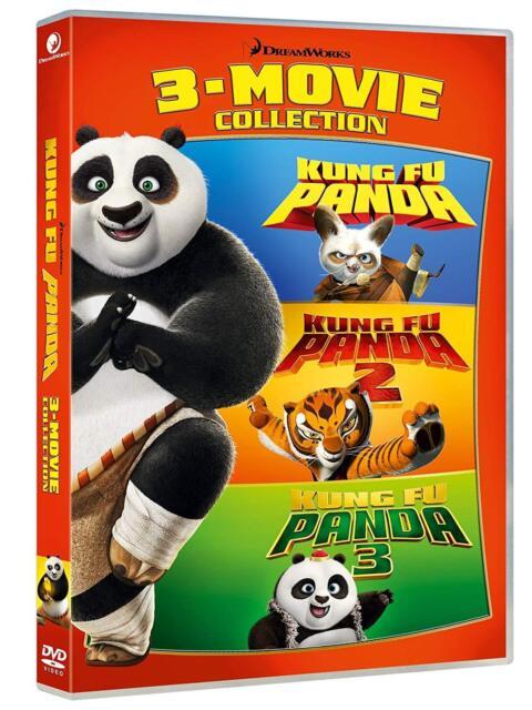 Dvd Kung Fu Panda Collection 1-3 (3 Dvd)  ......NUOVO