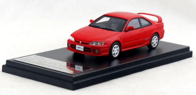1/43 Hi-Story TOYOTA COROLLA LEVIN BZ-R AE111 2000 Red HS130RE