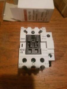 IDEC-Magnetic-Contactor-YC1U-18-24-VOLT-NEW-IN-BOX
