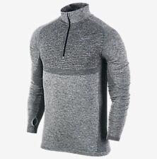Nike Dri-Fit Knit Half-Zip Men's Running Shirt (XL) 717748 010