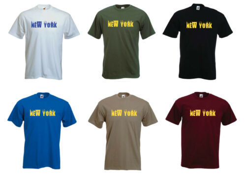 Town  T-shirt. City Mens funny Holiday /'New York/'