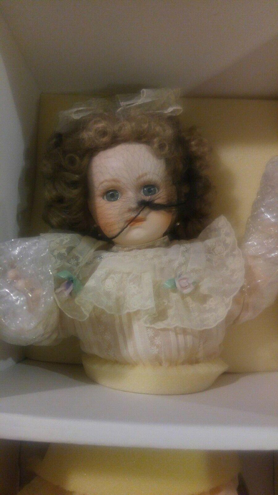 Franklin Mint reliquia colector muñeca De Porcelana Bebé