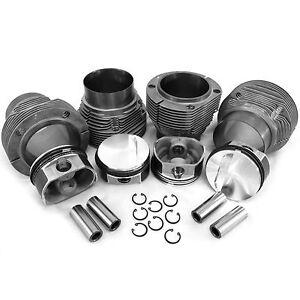 Details about 96mm 2 0 Porsche 914/ VW Type 4 Bus Piston & Biral Cylinder  Kit