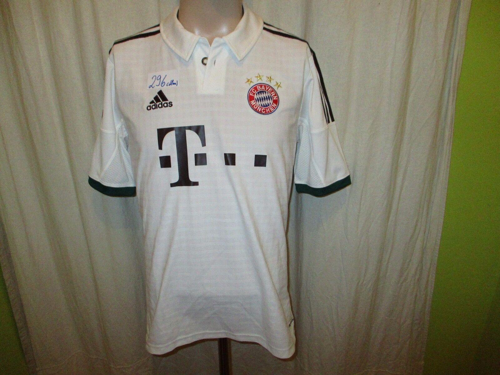 FC Bayern München Original Adidas Wiesen Trikot 2013 14  -T---  Gr.M TOP  | Won hoch geschätzt und weithin vertraut im in- und Ausland vertraut