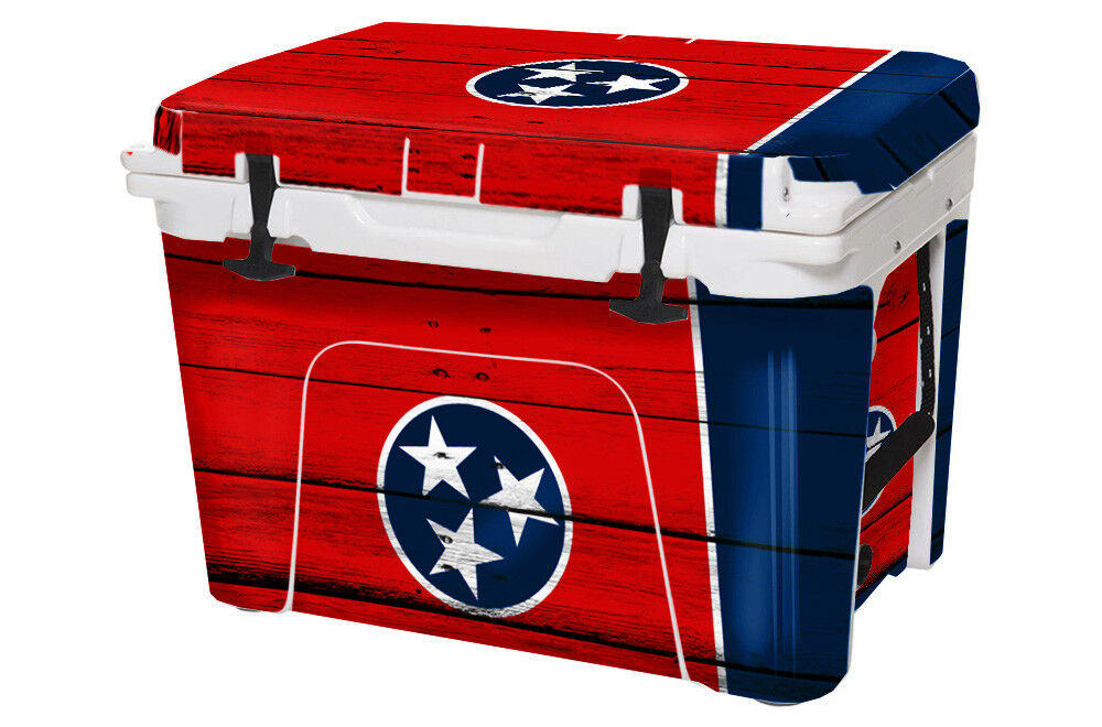 USATuff Cooler Wrap Tundra Decal fits YETI Tundra Wrap 50qt FULL Tennessee Flag WD ca16fa