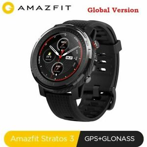 "Xiaomi AMAZFIT Stratos 3 1.34"" GPS 19 Sports Mode Waterproof Men Smart Watch"