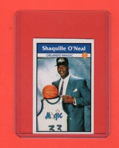 1992-93-Panini-Stickers-Shaquille-O-039-Neal-RC-1-Rare-Exmt