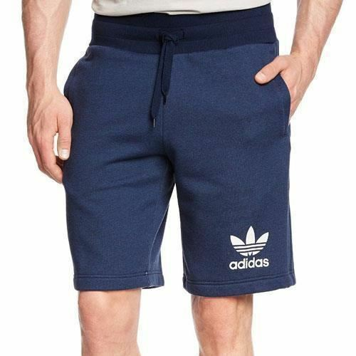 ADIDAS Da Uomo Sport Essentials Blu Navy palestra Attivo Pantaloncini Navy S19058