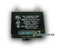 2 (two) Motor Capacitor 1.2 Uf 450 Vac 50/60 Hz