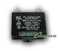 2 (two) Motor Capacitor 1.2 Uf 450 Vac 50/60 Hz