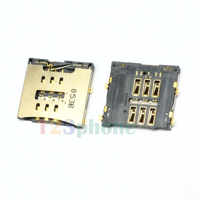 INNER MICRO SIM SLOT TRAY SOCKET HOLDER MODULE FOR IPHONE 4 #A-433