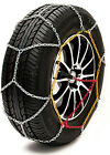 "Sumex Husky Winter Classic Alloy Steel Snow Chains for 14"" Car Wheel Tyres -PAIR"
