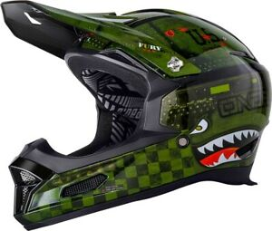 Details about 2019 O'Neal Adult Fury RL2 Warhawk Full Face Bicycle Helmet XL Mountain Bike MTB